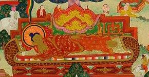 Buddha passes into nirvana.
