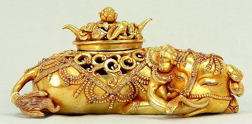 Ganesh as an Incense Burner