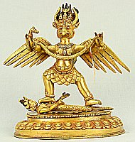 Garuda - bird-like being.