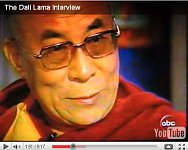 Interview with the Dalai Lama.