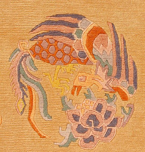 Tibetan Carpet - Detail.