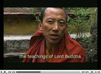 Lhasa and Tibet. Interview with a Tibetan monk.
