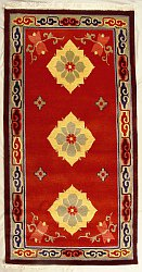 Traditional Tibetan Rug from Nepal.