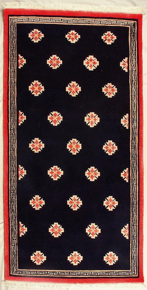 Traditional Geometric Tibetan Design Made In Nepal