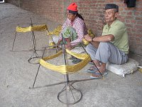 Hand Spinning in Nepal.