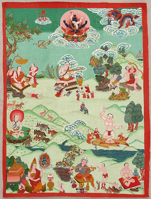 Kontemplative Thangka
