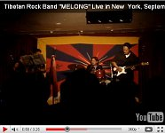 Melong band in New York.