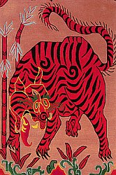 Tigers and Tibetan rugs.