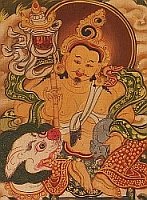 Tibetan Thangka - Detail