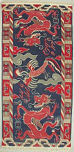 Dragons and Phoenix Rug