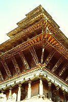 Wooden Temple Structure.