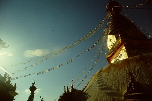 impressions-swayambhunath