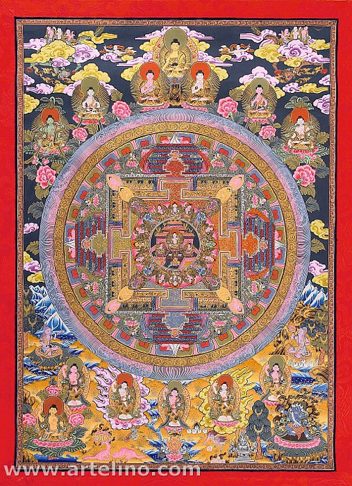 Mandala Thangka Artelino
