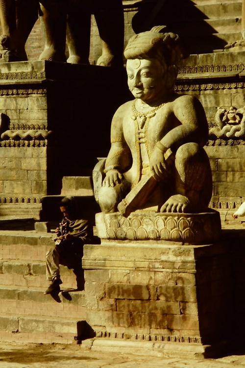 bhaktapur-statue
