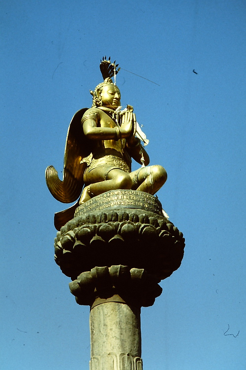 king-malla-column-bakthapur