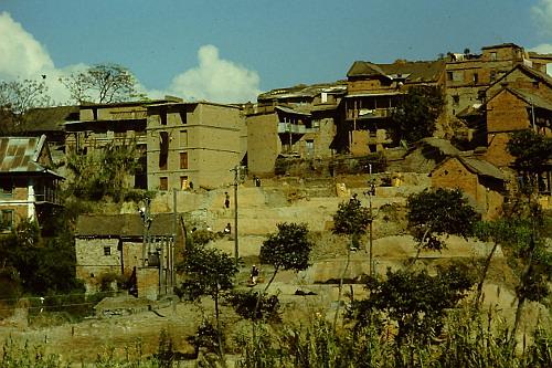 bodnath-houses