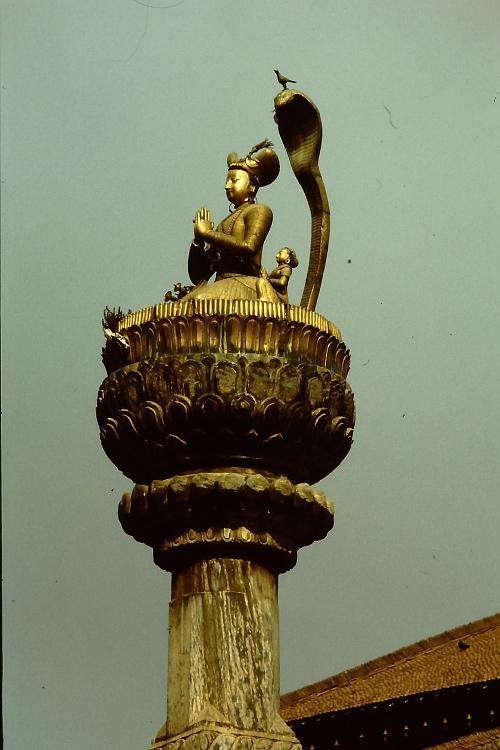 king-malla-statue